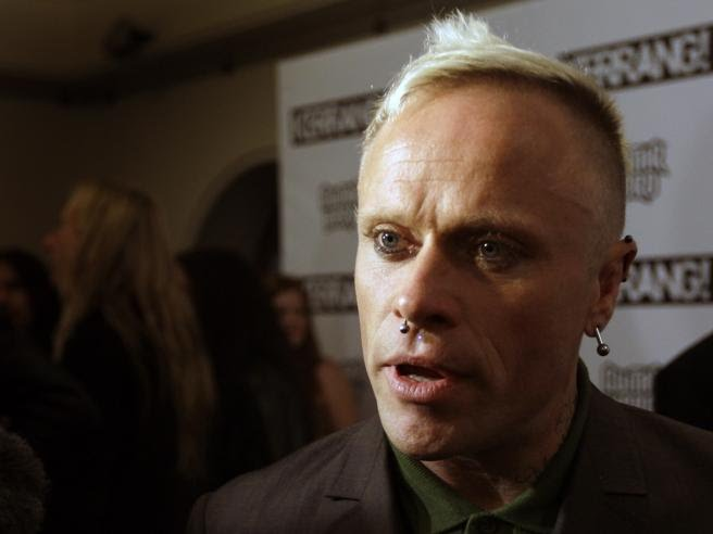 El cantante de The Prodigy, en los Kerrang Awards de 2009